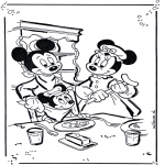 Персонажи комиксов - Микки и Минни