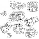 Рукоделие - Мобили Тачки 1