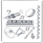Разнообразные - Музыкальные инструменты