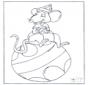 Мышь на шарике
