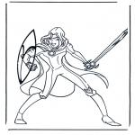 Персонажи комиксов - Нарния 5