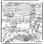 Раскраски по Библии - Новая земля 2