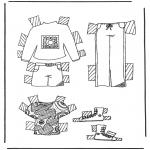 Рукоделие - Одежда для куклы 5