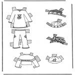Рукоделие - Одежда для куклы 7