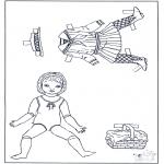Рукоделие - Одежда  - куклы 2