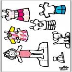 Рукоделие - Одежда  - куклы 3