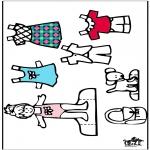Рукоделие - Одежда  - куклы 4