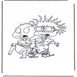 Персонажи комиксов - Ох, уж эти детки! 3
