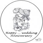 Темы - Открытка  .... лет свадьбы