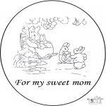 Рукоделие - Открытка для матери