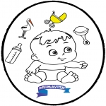 Темы - Открытка для вырезания - ребенок 3