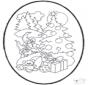 Открытка для вырезания - Рождество 3