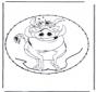 Открытка для вышивания Персонаж комиксов 9