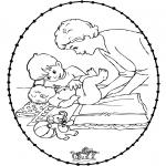Темы - Открытка для вышивания - ребенок 1