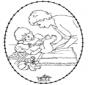 Открытка для вышивания - ребенок 1
