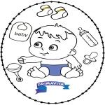 Темы - Открытка для вышивания - ребенок 2