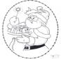 Открытка для вышивания Рождество 22