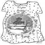 Рукоделие - Открытка - Днем Рождения 2