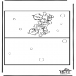 Рукоделие - Открытка Младенец 3