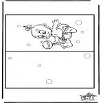 Рукоделие - Открытка Младенец 4