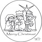 Рукоделие - Открытка Рождество 1