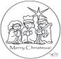 Открытка Рождество 1