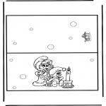 Рукоделие - Открытка Рождество 9