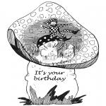 Рукоделие - Открытка с Днем Рождения 1