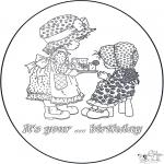 Рукоделие - Открытка с Днем Рождения 2