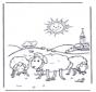 Овцы на солнце