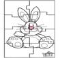 Пасхальный заяц - головоломка 3
