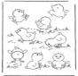 Пасхальные цыплята 1