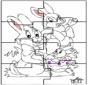 Пасхальный заяц - головоломка 2