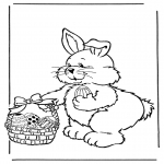 Темы - Пасхальный заяц с яйцами 2
