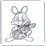 Темы - Пасхальный заяц с яйцом