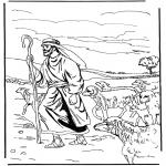 Раскраски по Библии - Пастырь