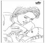 Pебенок и мать