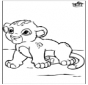 Pебенок лев