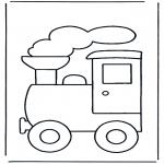 Детские раскраски - Поезд