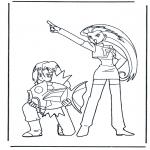 Персонажи комиксов - Покемон 3