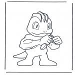 Персонажи комиксов - Покемон 5
