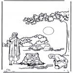 Раскраски по Библии - Притча о блудном сыне 1