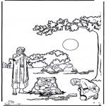 Раскраски по Библии - Притча о блудном сыне 4