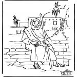 Раскраски по Библии - Притча о блудном сыне 5