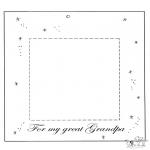 Темы - Рамка для фото милому дедушке