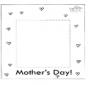 Рамка для фото в день матери