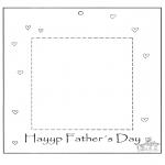 Темы - Рамка для фото в день отца