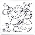 Темы - Раскрашиваем яйца