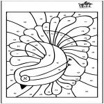Рукоделие - Раскрашивание по номеру 6