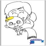 Темы - Раскраска - детка 2
